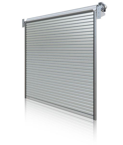 Bramy rolowane stalowe i aluminiowe - Bramy przemysłowe Coliber